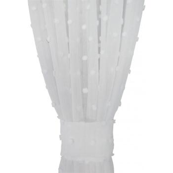 Bąbelki białe 055 Zasłona