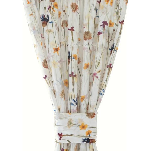 Kwiaty 124 Zasłona