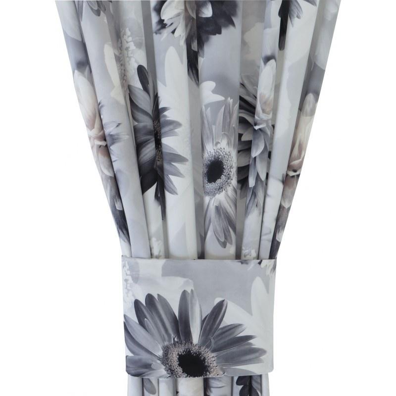 Kwiaty 3D 014 Zasłona